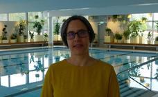 Maider López rodea con una 'cortina vegetal' la piscina de un barrio de Gotemburgo