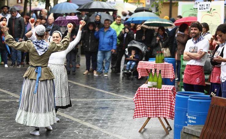 Sagardo eguna en Errenteria