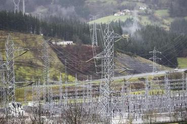 Arranca la obra de la línea Güeñes-Itsaso, clave para la conexión eléctrica con Europa