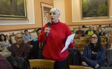 Mari Jose Porrino reitera en el Pleno de Irun su demanda de «una vivienda digna»