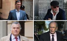 De la abstención de Villarejo al voto desde prisión de Urdangarin, Rato y Bárcenas