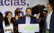 Santiago Abascal: «Hemos venido para quedarnos, ¡que lo sepan!»