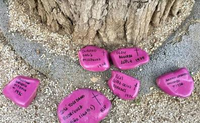El misterio de las piedras en homenaje a los represaliados franquistas en Toledo