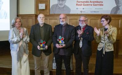 Aramburu y Guerra Garrido reciben el premio Covite por «su apuesta intelectual por la verdad»