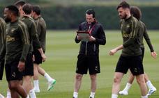 Emery: «»Hay que concentrarse en el partido de ida»