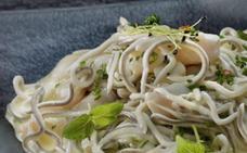 Receta de cocochas de bacalao con gulas