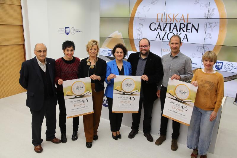 Un total de 29 queseros participan este fin de semana en la Feria del Queso Vasco de Idiazabal