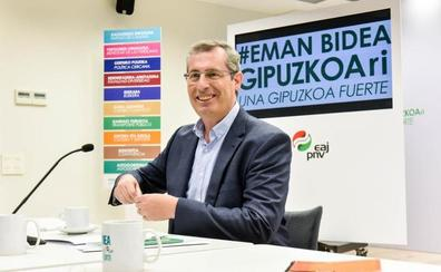 Olano asegura que las elecciones forales serán «una pugna reñida entre PNV y EH Bildu»