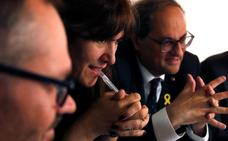 Torra no retirará la Cruz de Sant Jordi a De Gispert