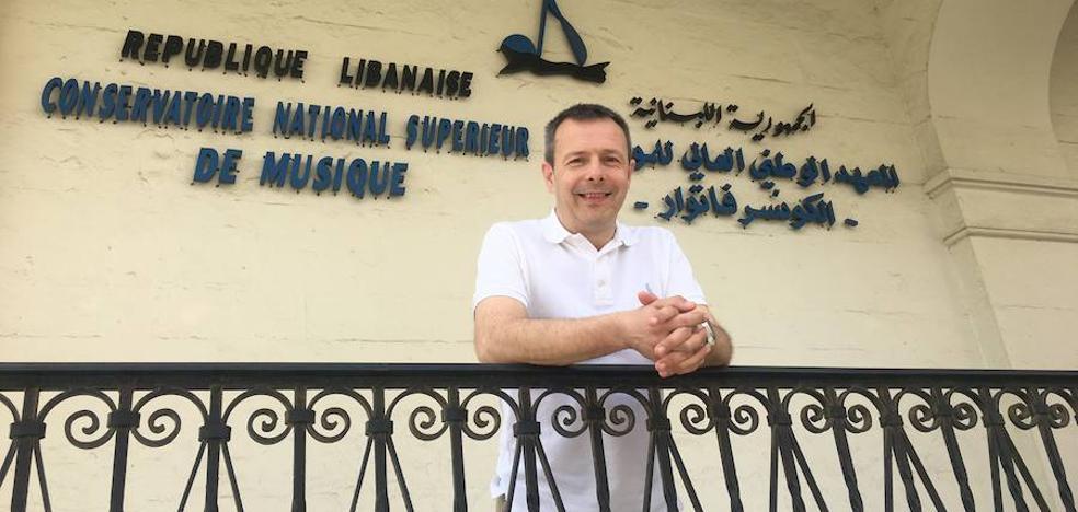 El txistu suena en Beirut con la Orquesta del Líbano