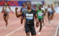 Semenya desafía a la IAAF en su 'última' carrera