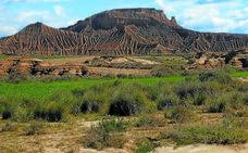 La belleza del desierto navarro