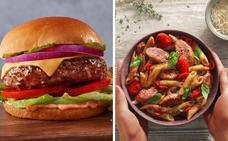 La «carne» hecha con plantas debuta en Wall Street y se dispara un 163%