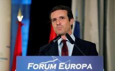 Casado compara sus «malos» resultados con la derrota de Rajoy en 2008