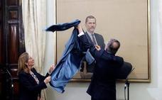 El Congreso estrena un retrato oficial del Rey Felipe VI