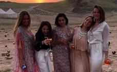 El fastuoso cumpleaños de la hija de Estefanía de Mónaco en Marrakech