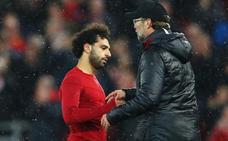 Klopp: «Salah está mejor pero no puede jugar»