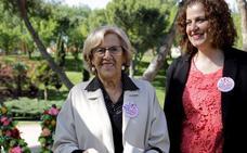 Carmena no descarta formar parte de un gobierno presidido por Pepu Hernández en Madrid