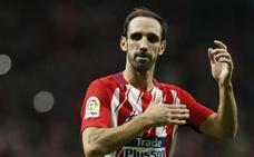 Juanfran, un defensa del Atlético de Madrid en el juicio del 'procés'