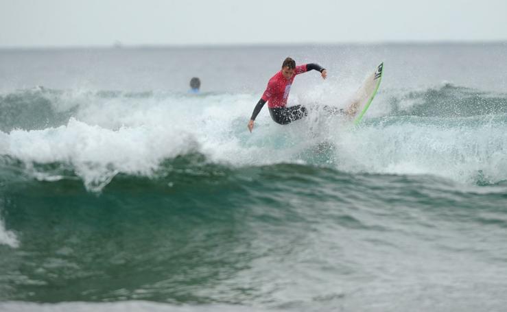 Campeonato de surf en Zarautz
