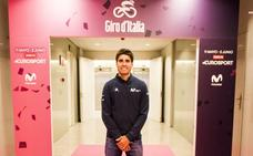 Landa vuelve emocionado al Giro, donde mutó a líder