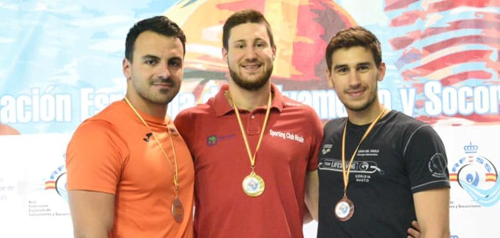 Eduardo Blasco vuelve al podio en el Open de España de Salvamento y Socorrismo