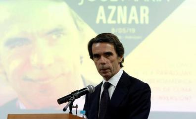 Aznar defiende una «intervención» en Venezuela para apoyar a Juan Guaidó