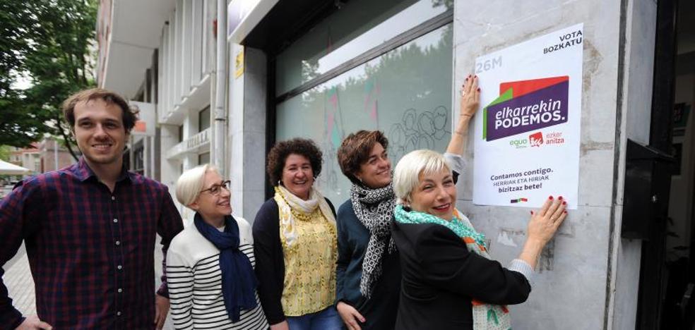 Elkarrekin Podemos pone en manos de dos mujeres la batalla por el progresismo