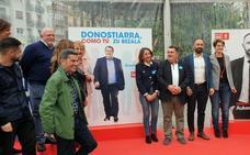 El PSE apela al voto de la izquierda social para liderar Gipuzkoa y San Sebastián