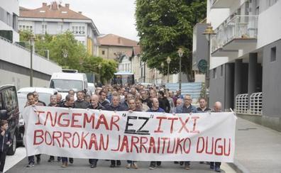 Los trabajadores de Ingemar se movilizan contra el ERE que les aboca al cierre