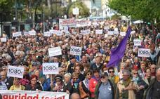 Los pensionistas vascos vuelven a tomarlas calles para reclamar compromisos reales
