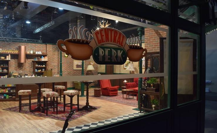 Una tarde en la cafetería 'Central Perk'