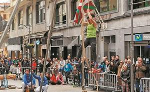 Euskal Jaia adelantada y alegre