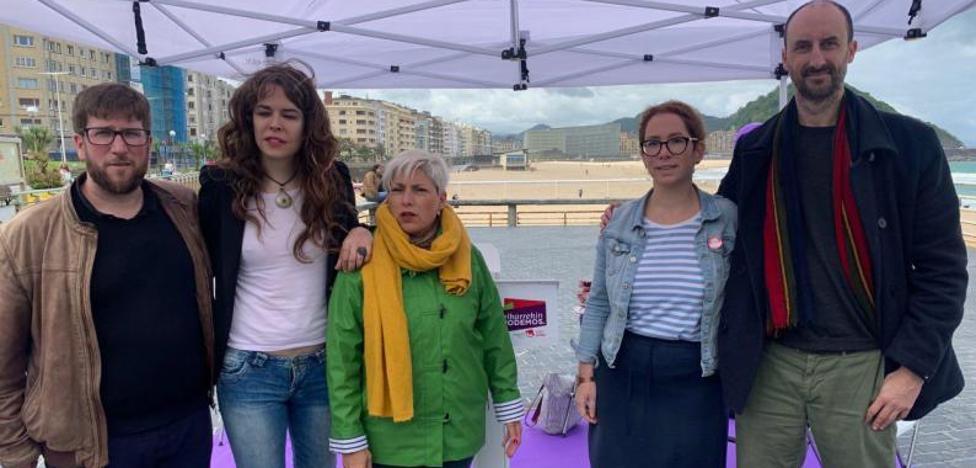 Podemos quiere que Gipuzkoa lidere en Euskadi «el reto mundial de salvar el planeta»