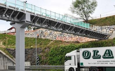 El nuevo peaje de camiones de la N-I se pone en marcha mañana