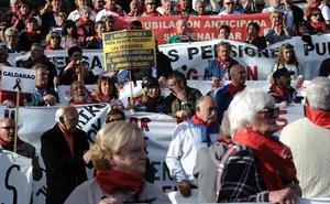 Los pensionistas vascos seguirán movilizándose hasta que se cumplan las promesas