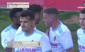 Los cinco mejores goles de la jornada 38 de Segunda