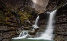 Cinco cascadas alavesas