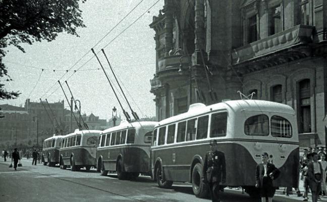 1949 | Los trolebuses producían «fuertes calambres»