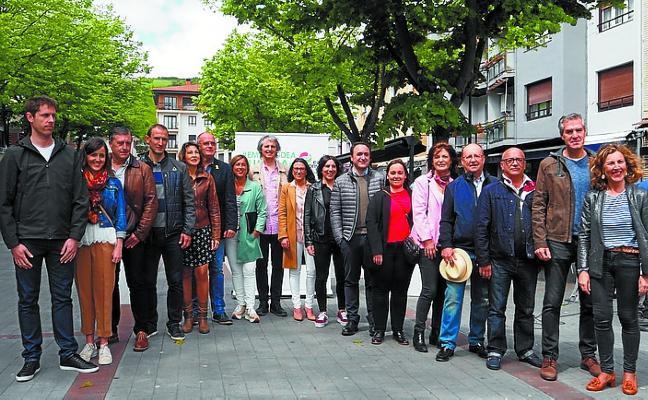 La candidatura de EAJ-PNV presentó los principales puntos de su programa