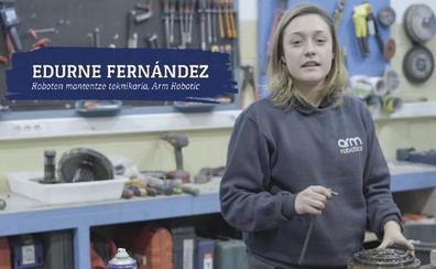 La FP industrial busca chicas al suponer solo el 10% de alumnos en el País Vasco