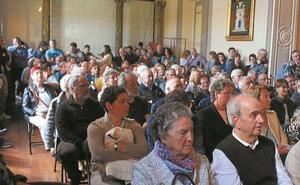 Multitudinaria presentación del fondo sonoro Jesús Mari Olano