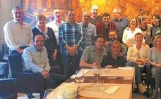 Primer encuentro entre legazpiarras residentes en Vitoria