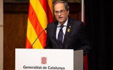 Torra celebra un año como presidente reafirmando su «mandato» con la República