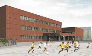 Analizan el anteproyecto del nuevo edificio de Zumaia BHI