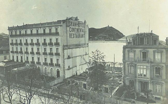 1884 | Abre el primer hotel que se asomó a la bahía, el Continental
