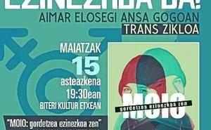 Puesta en marcha del ciclo trans organizado desde Igualdad en recuerdo a Aimar Elosegi