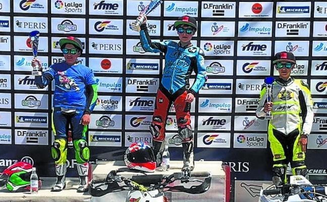 Beñat Fernández vuelve a pisar podio en Kodarr, en el Campeonato de España