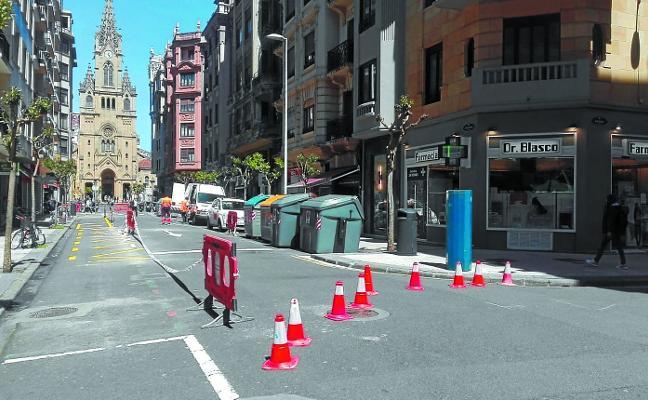Arranca en Carquizano la peatonalización