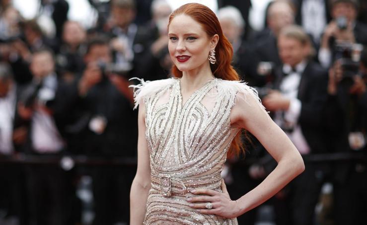 Glamour en la alfombra roja de Cannes